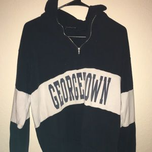 Brandy Melville George Town quarter zip
